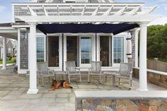 Metal Pergola, Deck With Pergola, Covered Pergola, Backyard Pergola, Pergola Shade, Pergola Plans, Pergola Ideas, Patio Ideas, Pallet Pergola