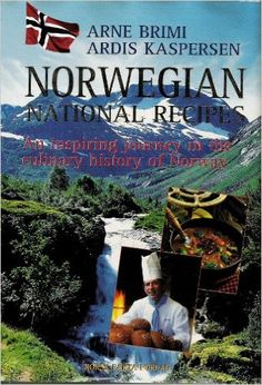 Norwegian National Recipes : An inspiring journey in the culinary history of Norway. 352 pages, over 180 gorgeous color photographs, 600 recipes indexed by title and region. Covering the seven major geographical regions and the 19 fylker (districts) of Norway -- with contributions by Norway's leading chefs.