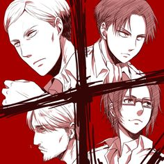 SnK Veterans by suzu
