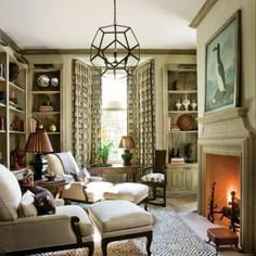 Love this space! Want to curl up there, now!!