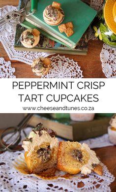 Peppermint Crisp Tart, Macarons, Sweet Treats, Muffin, Cupcakes, African, Breakfast, Desserts, Food