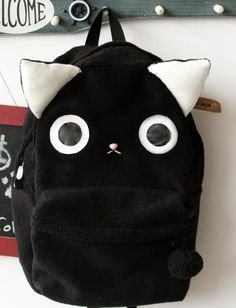 Plush Kitty Cat Backpack