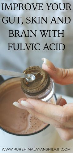 Improve Your Gut, Skin And Brain With Fulvic Acid Dana Linn Bailey, Humic Acid, Organic Acid, How To Increase Energy, Health And Wellbeing, Healthy Foods To Eat, Healthy Weight Loss, Traveling By Yourself, Improve Yourself