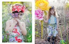 A gorgeous shot of the Coco and Ginger floral vest - Babiekins Magazine - Issue 12