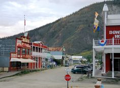 Dawson City & the Yukon River, Yukon, Canada