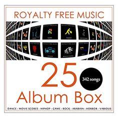 Royalty Free Music 25 Album Box (342 songs) Royalty Free Music / DistributionLabel.com http://www.amazon.com/dp/B00SBQYVOQ/ref=cm_sw_r_pi_dp_OcDrvb0QSK95Y