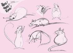 Rats Rats Rats by *Demonysh,  love the movement