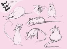 Rats Rats Rats by *Demonysh, love the movement