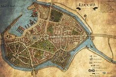 Fantasy Roleplay City Map by *Adhras on deviantART