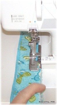 Pam from Off the Cuff Style shows how she achieves a perfect rolled hem on a serger. Once you master the serged rolled hem, you can use it to quickly finish off the edges of napkins, tableclothes,…
