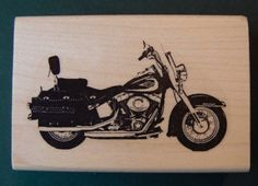 Harley motorcycle rubber stamp P9 ** More info could be found at the image url.