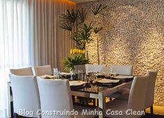 Construindo Minha Casa Clean: Como Decorar a Sala de Jantar?