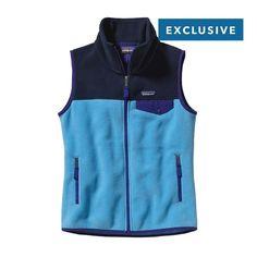 Patagonia Women\'s Snap-T\u00AE Vest - Skipper Blue SKPB
