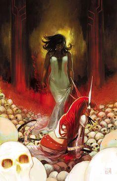 Uma prévia do que virá de Angela como Rainha de Hel ~ Universo Marvel 616