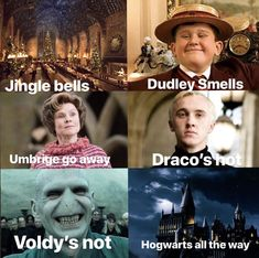 These Top 18 Harry Potter Memes Jingle Bells are so hilarious that will make you Funny and Laughing for whole day.We are sure you will enjoy these Top 18 Harry Potter Memes Jingle Bells. Estilo Harry Potter, Mundo Harry Potter, Harry Potter Jokes, Harry Potter Cast, Harry Potter Characters, Harry Potter Universal, Harry Potter Fandom, Harry Potter Hogwarts, Harry Potter Stuff