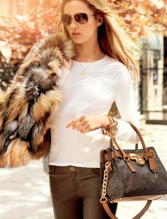 mk fall catalog6 Karmen Pedaru Models for Michael Kors Fall 2013 Catalogue
