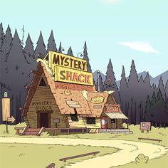 Gravity Falls - Mystery Shack