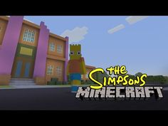 Someone built all of Springfield in Minecraft to recreate the 'Simpsons' opening