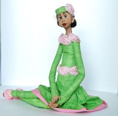 Ooak Handmade and Sculpted Art Doll