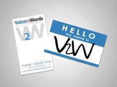 Quirky custom voiceover business cards voiceover voice custom clever custom business cards voiceover voice businesscards colourmoves