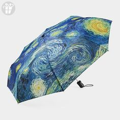 The Original STARRY NIGHT Collapsible Umbrella by MoMA (*Amazon Partner-Link)