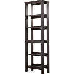 "Gerardo 5-Shelf 72"" Etagere Bookcase"
