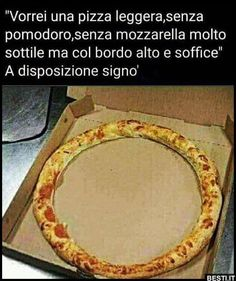 Vorrei una pizza leggera Funny Images, Funny Pictures, Funny Scenes, Me Too Meme, Haha, Smile, Night, Per Diem, Photos