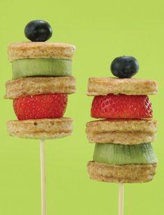 stick stack pancakes
