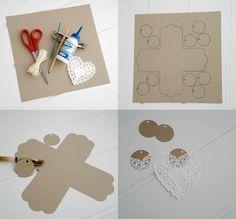 Caja para galletas - http://blogmegasilvita.com/2015/03/diy-ideas-para-empaquetar-galletas.html