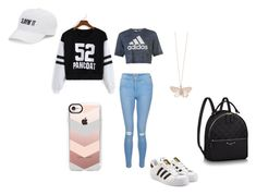 """An Adventure at the Mall!"" by ashleyfashiondiva ❤ liked on Polyvore featuring SO, New Look, adidas Originals, adidas, Alex Monroe and Casetify"