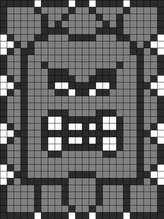 クロスステッチパターン(ドッスン)