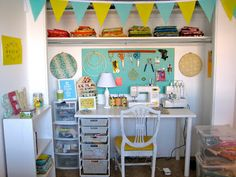 Belclaire House: Reader Request: Sewing Room Ideas