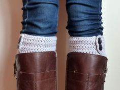 Crochet boot cuffs, boot toppers, knit boot cuffs, faux leg warmers, faux socks, peep socks. Any Colour!
