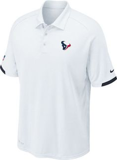 NFL Nike Dri Fit Houston Texans On Field Polo Short Sleeve Shirt NEW Medium   Nike · Dallas Cowboys ... 6cb3acadc