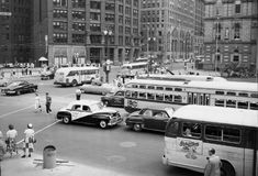 Woodward avenue and fort street , Detroit Michigan 1952 Flint Michigan, State Of Michigan, Detroit Michigan, Detroit Downtown, Dearborn Michigan, Detroit Area, Abandoned Detroit, Abandoned Places, Abandoned Malls