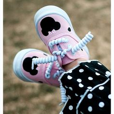 minnie mouse shoes!!  I would never be able to take these off of her!