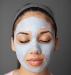 Bentonite Clay mask. There are a few different recipes on this website.