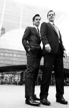 Matt Bomer and Tim DeKay White Collar- love this show!