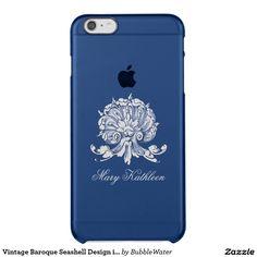 Vintage Baroque Seashell Design iPhone 6 Case