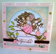 My Creative Moments: Whimsy Stamps - March Rubber Stamps and Die Sneak Peek Day 1