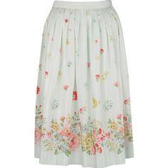 Cath Kidston - Spring Bouquet Border Skirt