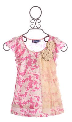 Hannah Banana Truly Me Belize Tween Girls Tunic Pink $36.00