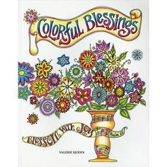 Colorful Blessings Coloring Book For Adults | Colorful Impressions