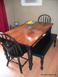 How to refinish and stain a table sand wood conditioner stain