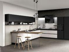 Cucina Moderna Glass
