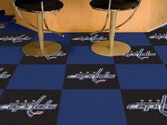 "NHL - Washington Capitals 18""x18"" Carpet Tiles"
