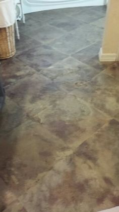painted cement floor how to paint a faux terra cotta floor how