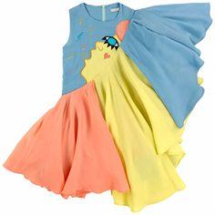 Welcome to Wonderland with Raspberry Plum Star Fashion, Kids Fashion, Fashion Design, Baby Girl Dress Design, Pakistani Dress Design, Lovely Dresses, Handmade Clothes, Kids Wear, Pattern Fashion