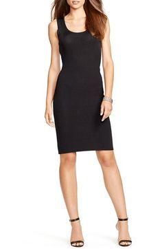 Lauren Ralph Lauren Stretch Matte Jersey Sheath Dress (Regular & Petite) available at #Nordstrom