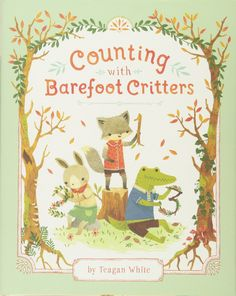 Amazon.co.jp: Counting with Barefoot Critters: Teagan White: 洋書